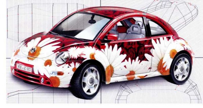 VW New Beetle Flower Powerl (1998)